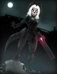 Cyborg jackal lady