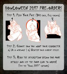 Howloween 2017 Badge Preorders are OPEN!