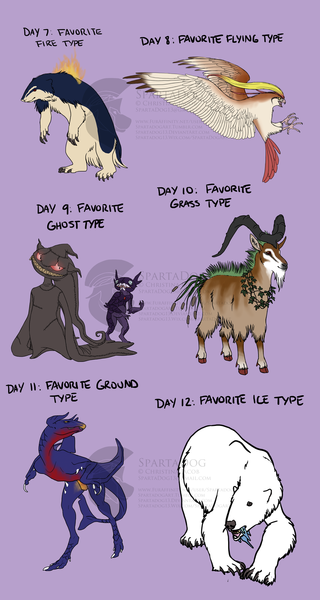 PokeDexy Challenge - Days 7 - 12