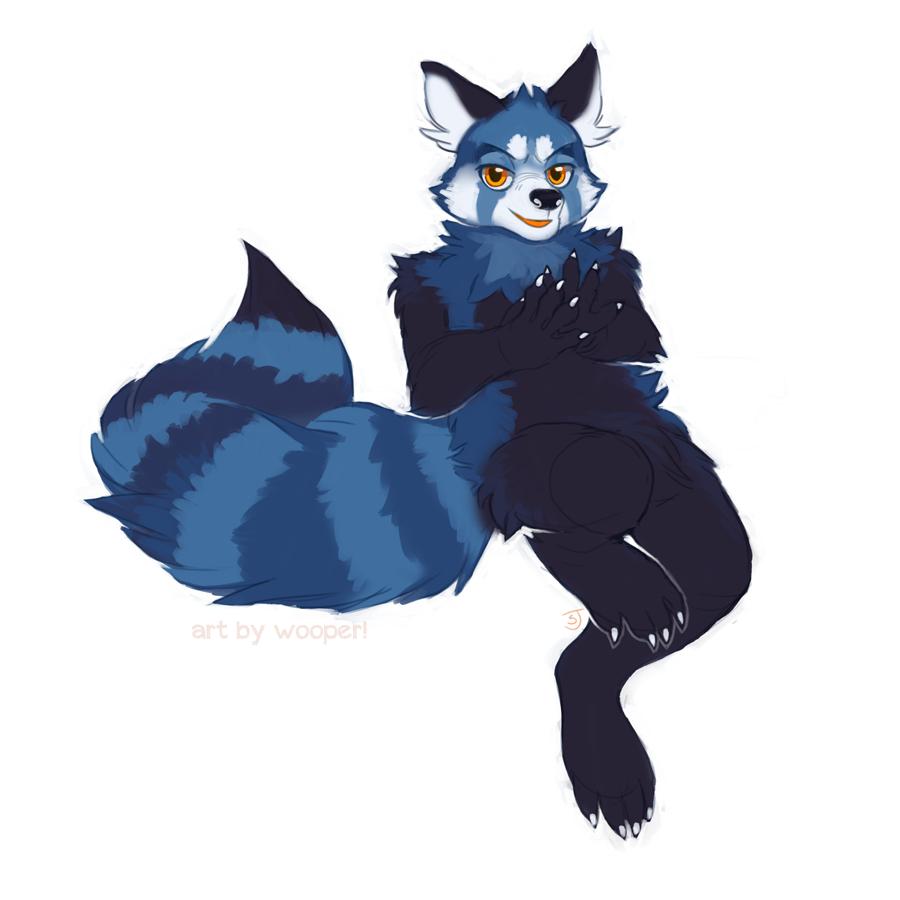 Featured image: Blue Panda