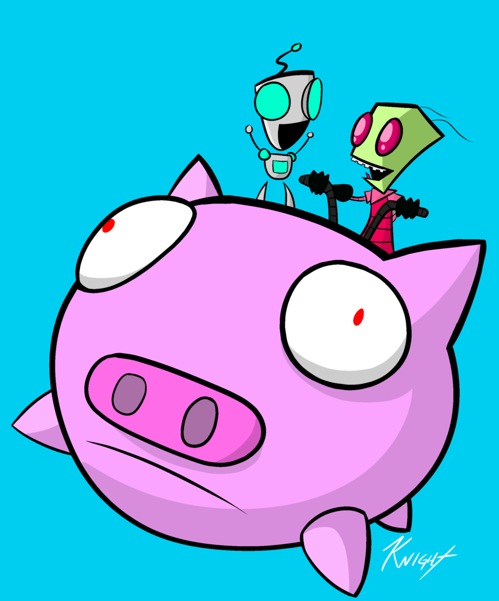 Most recent image: Happy Invaders - 1/18