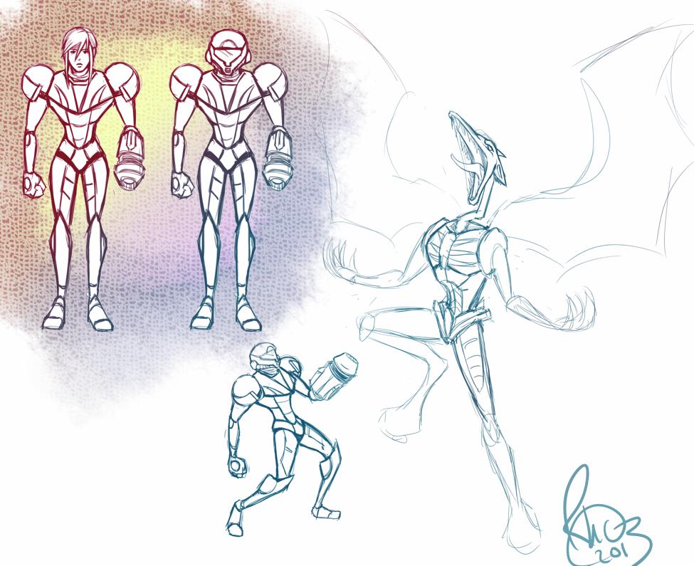 Animated Metroid Ideas