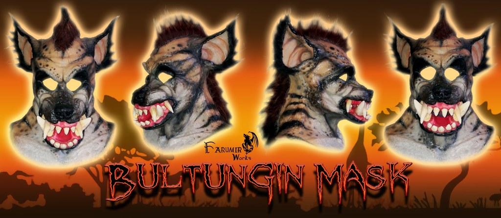 New Bultungin 'Were-Hyena' masks!