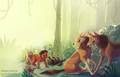 Jungle Book Mowgli