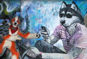 Sobaka Break - Street Art of Bishkek part 2