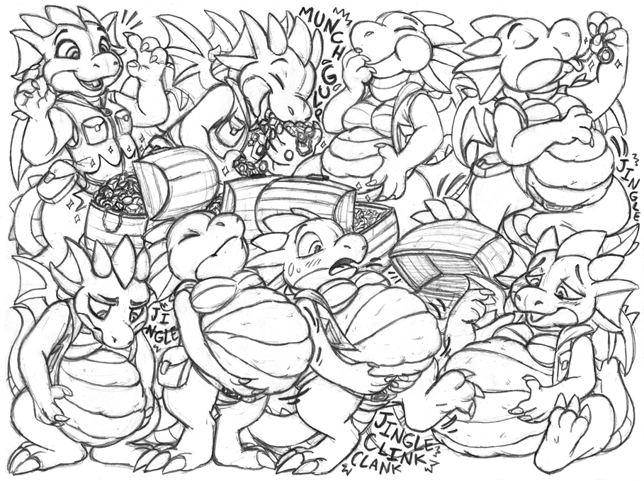 Most recent image: brokenwing sketchpage commission (stuffing)