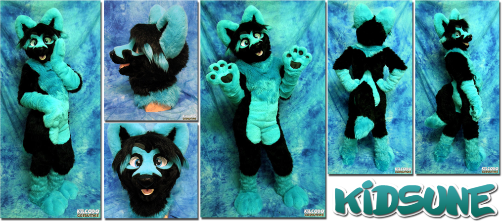Kidsune Fursuit is done!