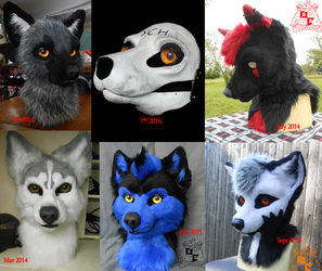 FOR SALE: YCH Canine fursuit!