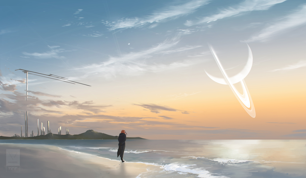 Far sky