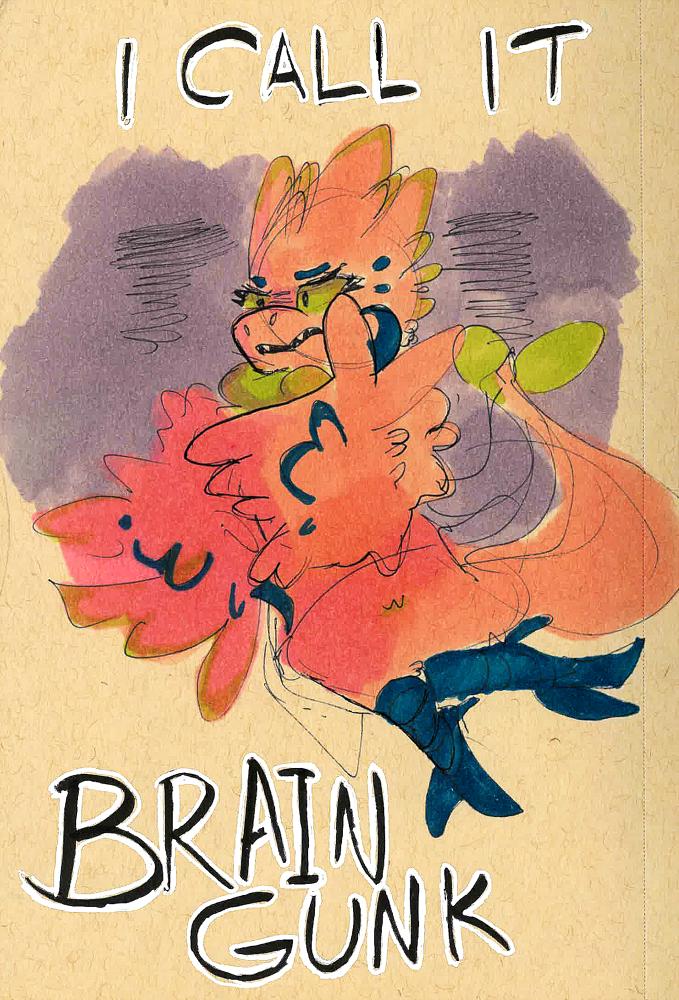 Sketch Saturday - Brain Gunk!