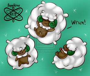 Fluffy Prankster +Whimsicott+