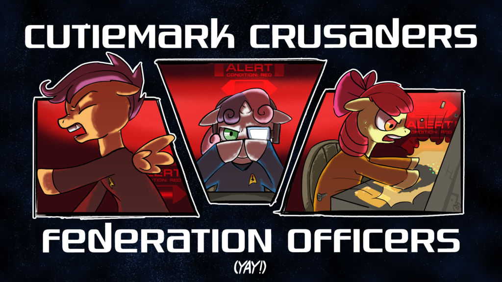 Cutiemark Crusaders Federation Officers Yay!