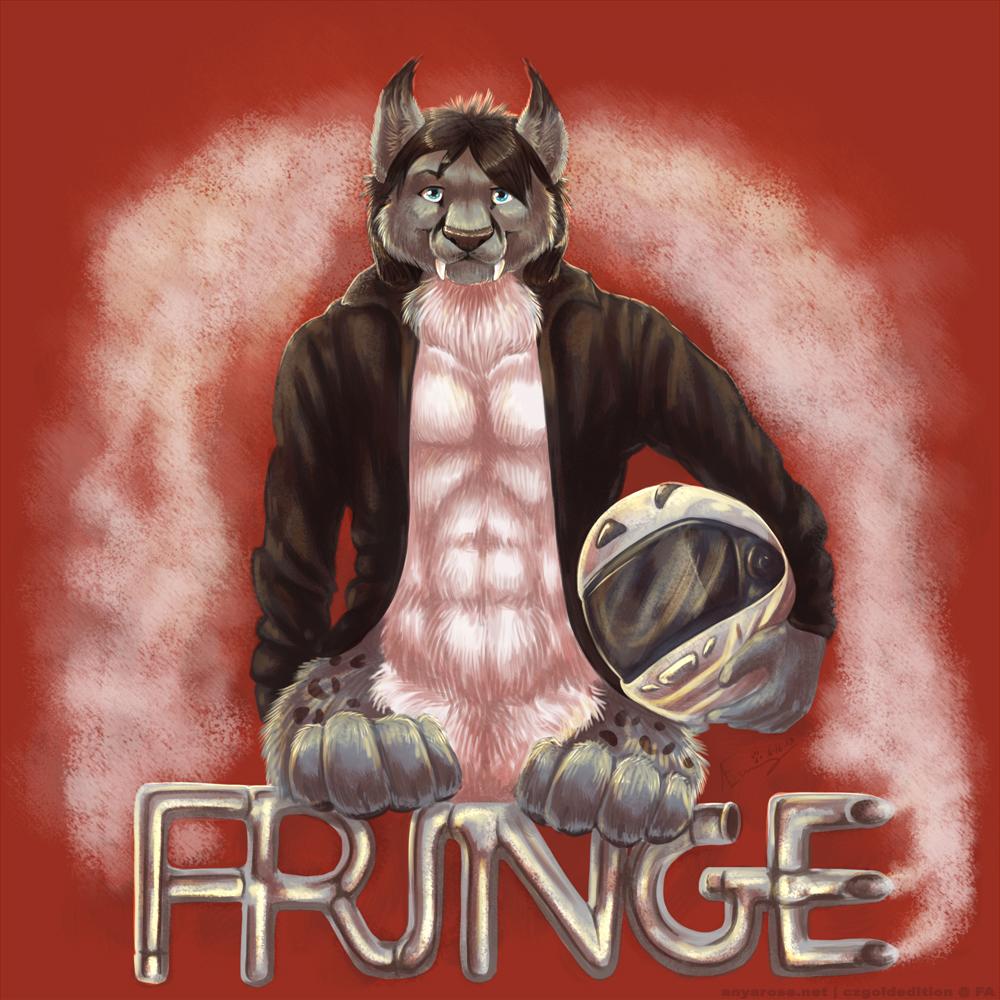 Anthrocon Conbadge: Fringe.