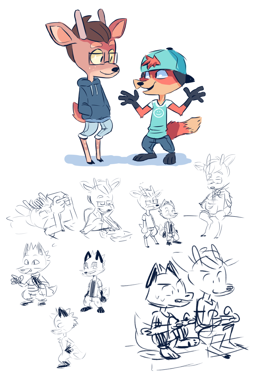 Most recent image: sketches