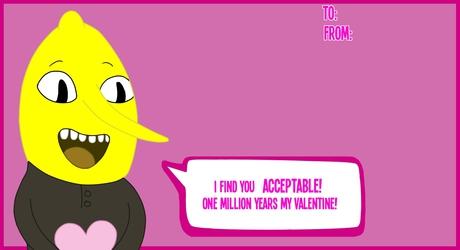 Lemongrab Valentine