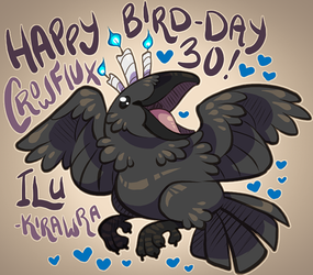 Crow's 30th BIRD-Day