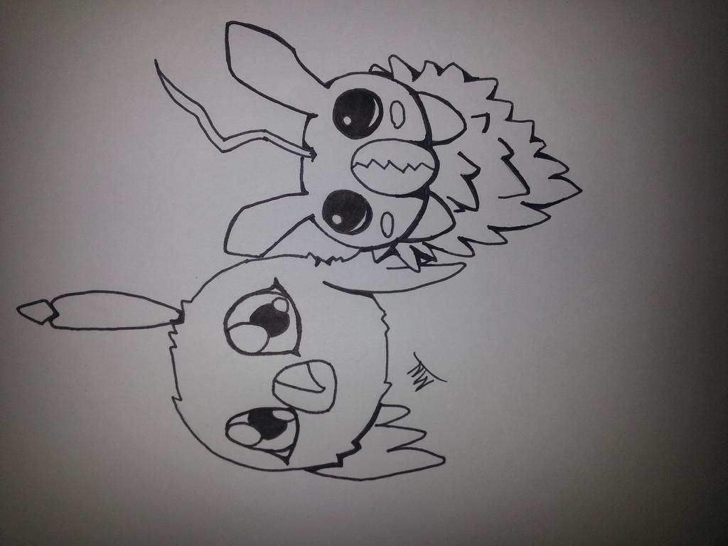 Most recent image: Digimon (Poromon and Minomon)