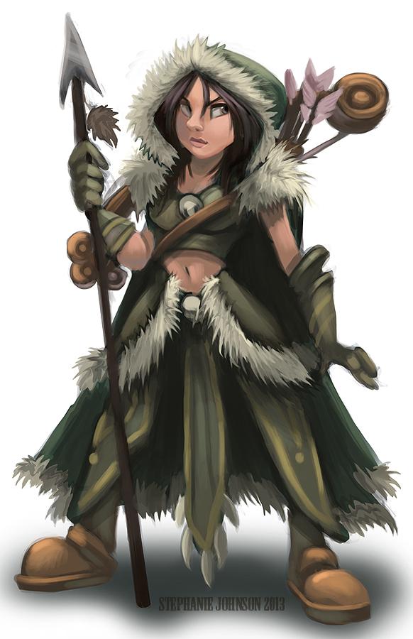 Pathfinder Character- Druid