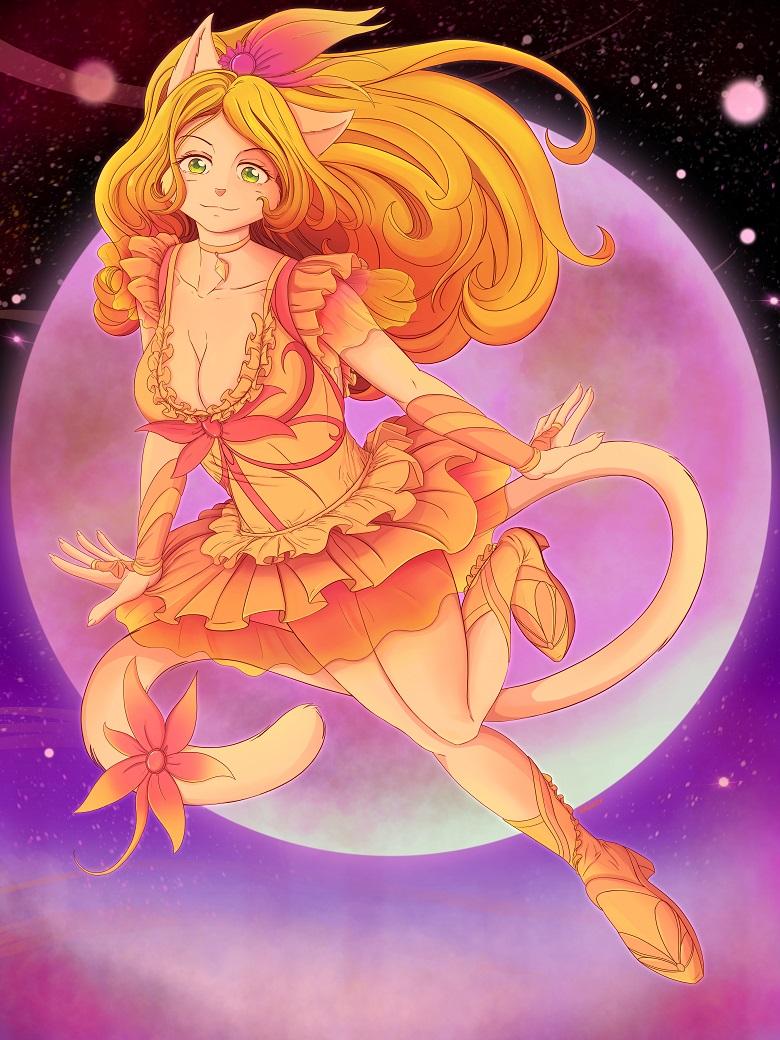Magical Girl Leona by Hawlus