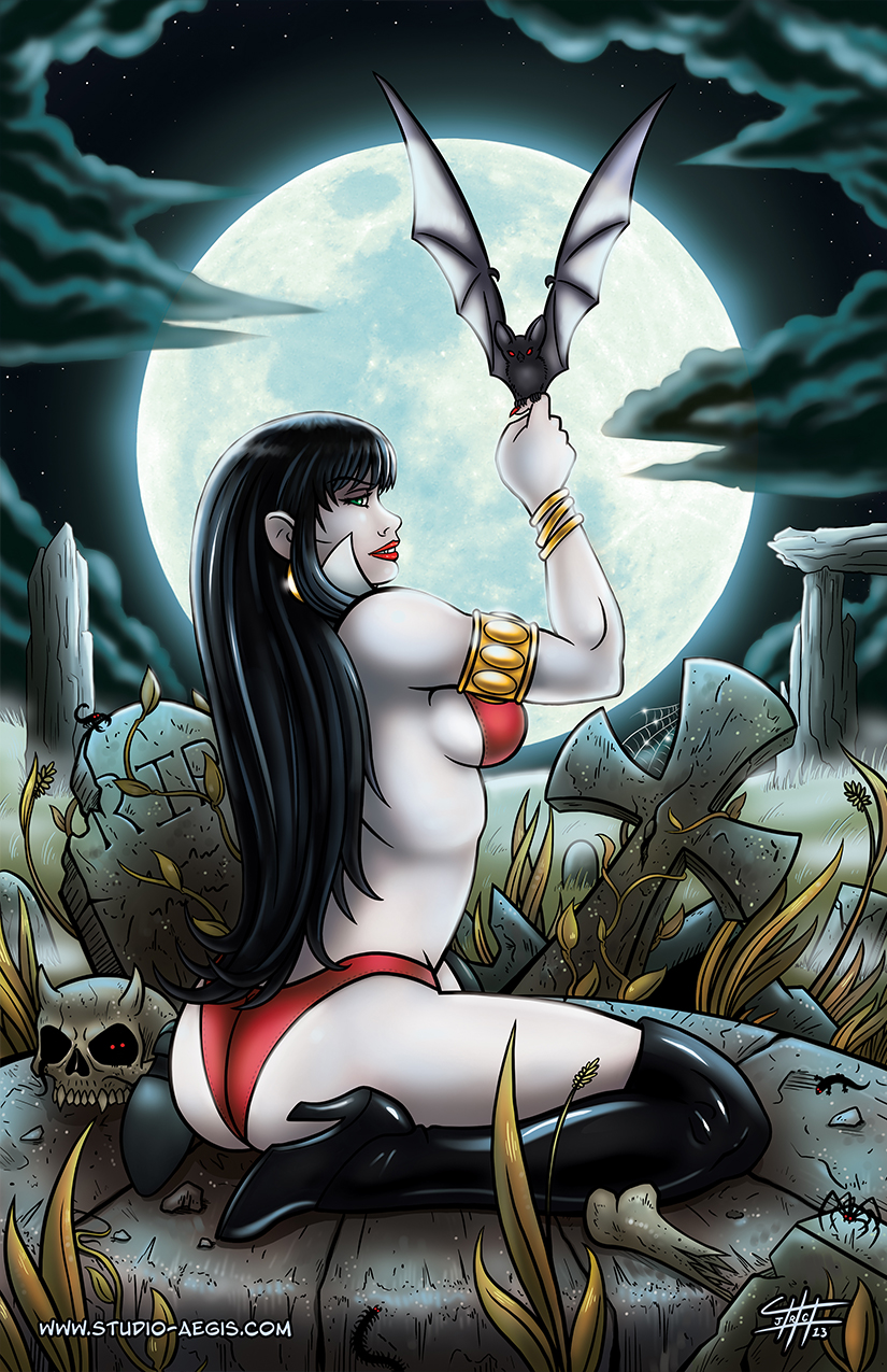 Vampirella - Moonbath