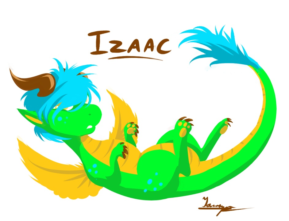 Izaac - Lil Draggie Art Trade/Entry