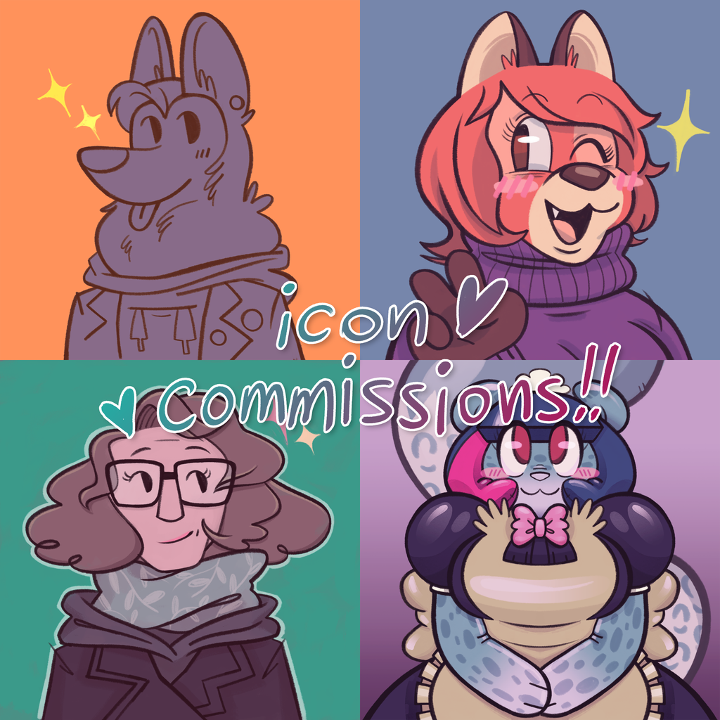 Icon Commissions Open! 2 slots available!
