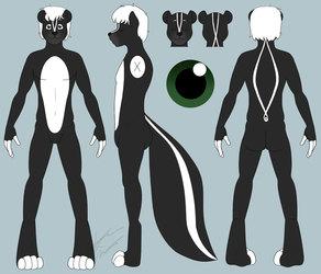 COMM: Lince Skunk Ref Sheet