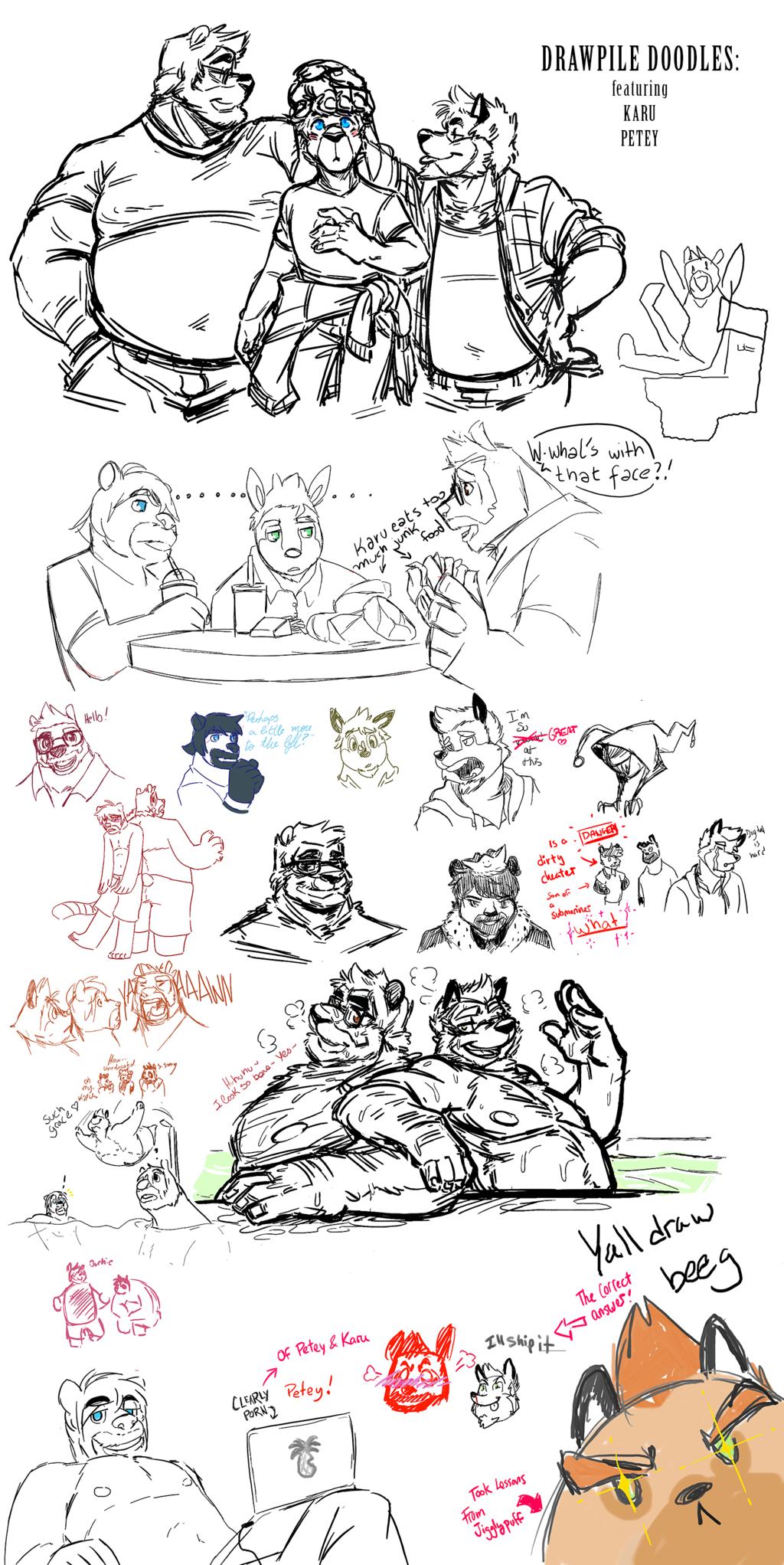 Super DrawPile Doodles: Trio Attack