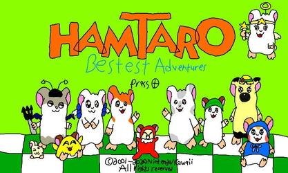 Hamtaro: Bestest Adventures Title Screen