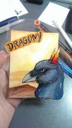 ACEO Badge Dragony