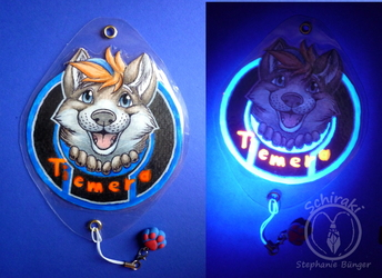 Blacklight Badge - Tiemera