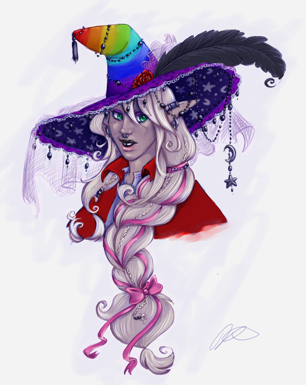Most recent image: Your Name is Taako- in Color