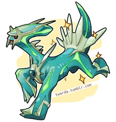 Wild Shiny Dialga Appeared