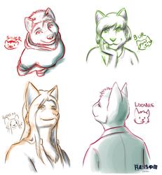 27/01/2014 Portrait Doodles