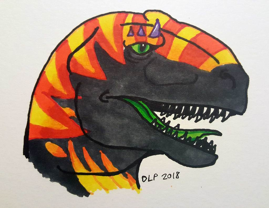 Most recent image: Ko-fi Commission-Scotch the Allosaurus