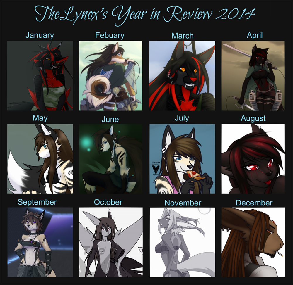 TheLynox's Year in Review 2014
