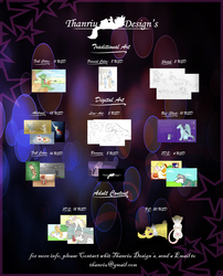 Commissions prices 2014!~ -Close for Now-