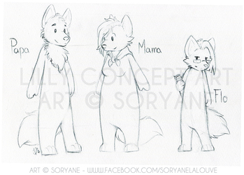 Lilly's World - Concept Sketches