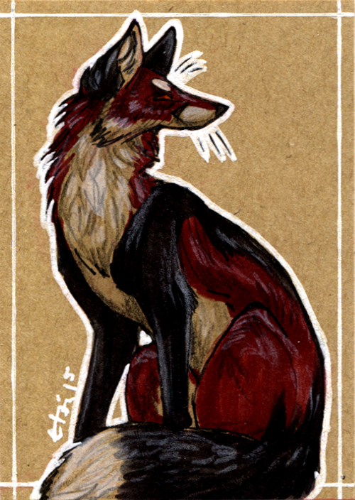 ACEO - Krovavo