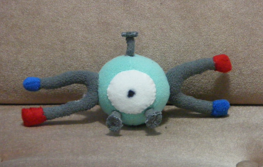 Magnemite Custom Plush (Updated)