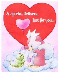 Special Delivery Pokarebear Card