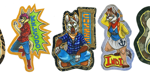 Traditional Full Badges (FWA 2013)