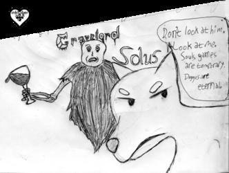 inktober #7: dead sound of misery