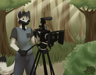 """Shooting Short Films & Happy Trees."" by Ekbellatrix."