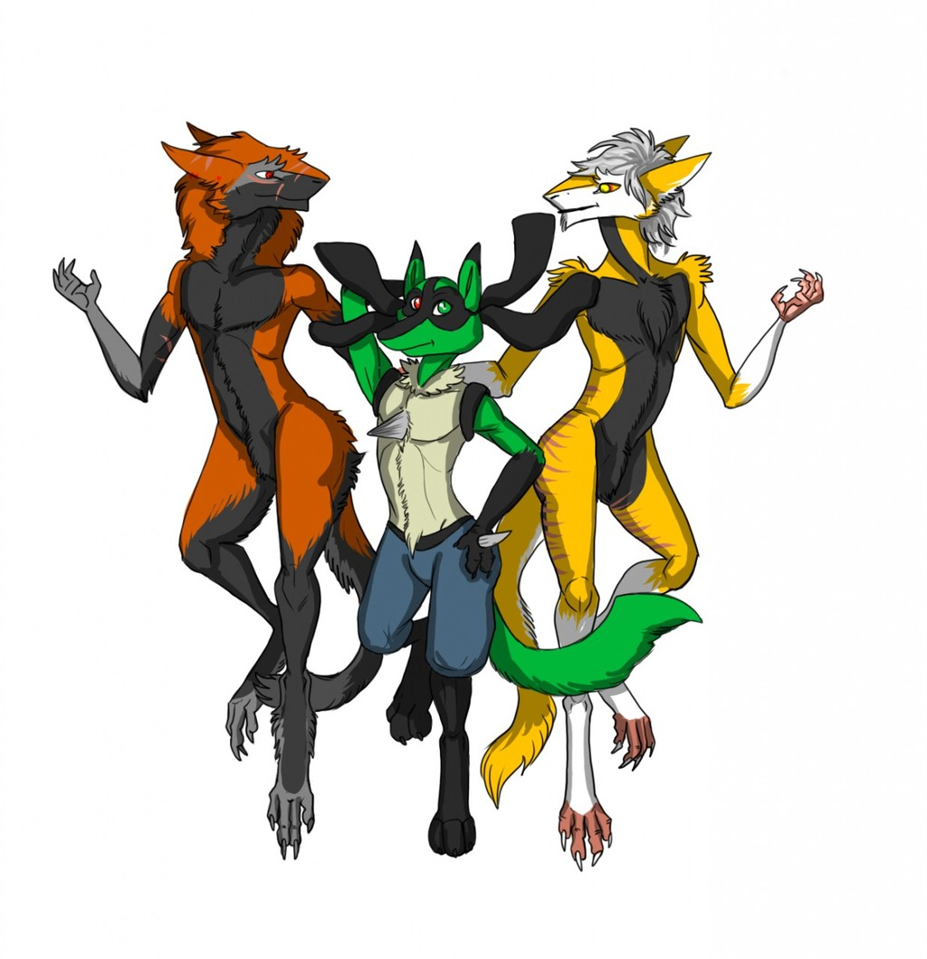 Between two sergals