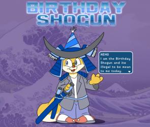 NEMO: BIRTHDAY SHOGUN