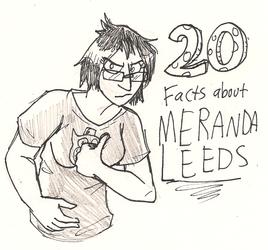 20 Facts about Meranda Leeds