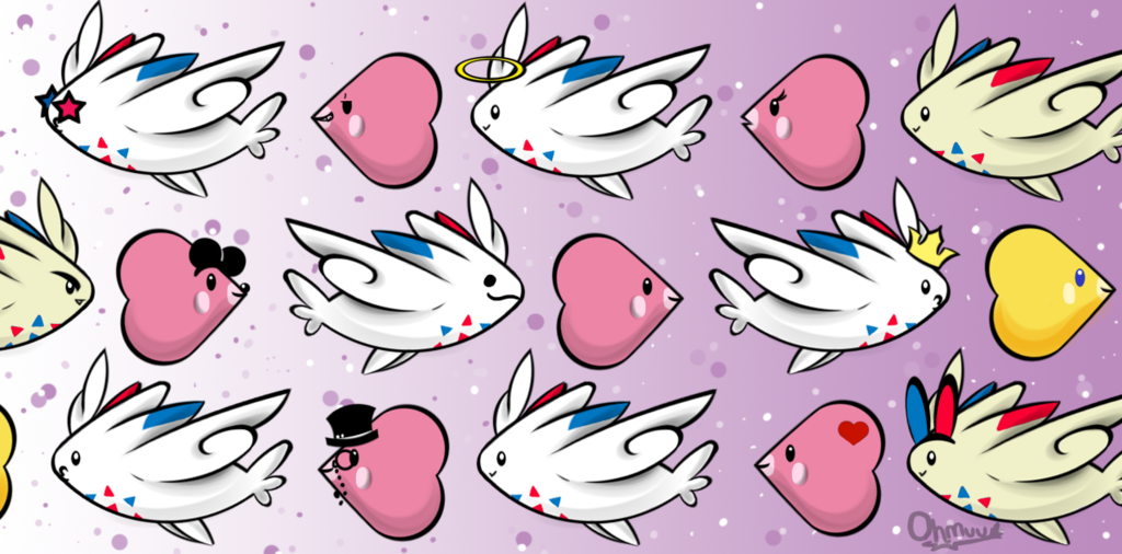 Luvdisc and Togekiss