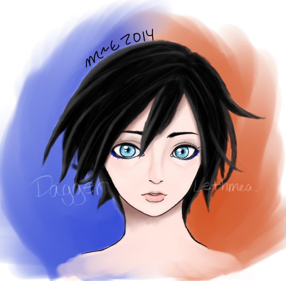 Edgy Portrait