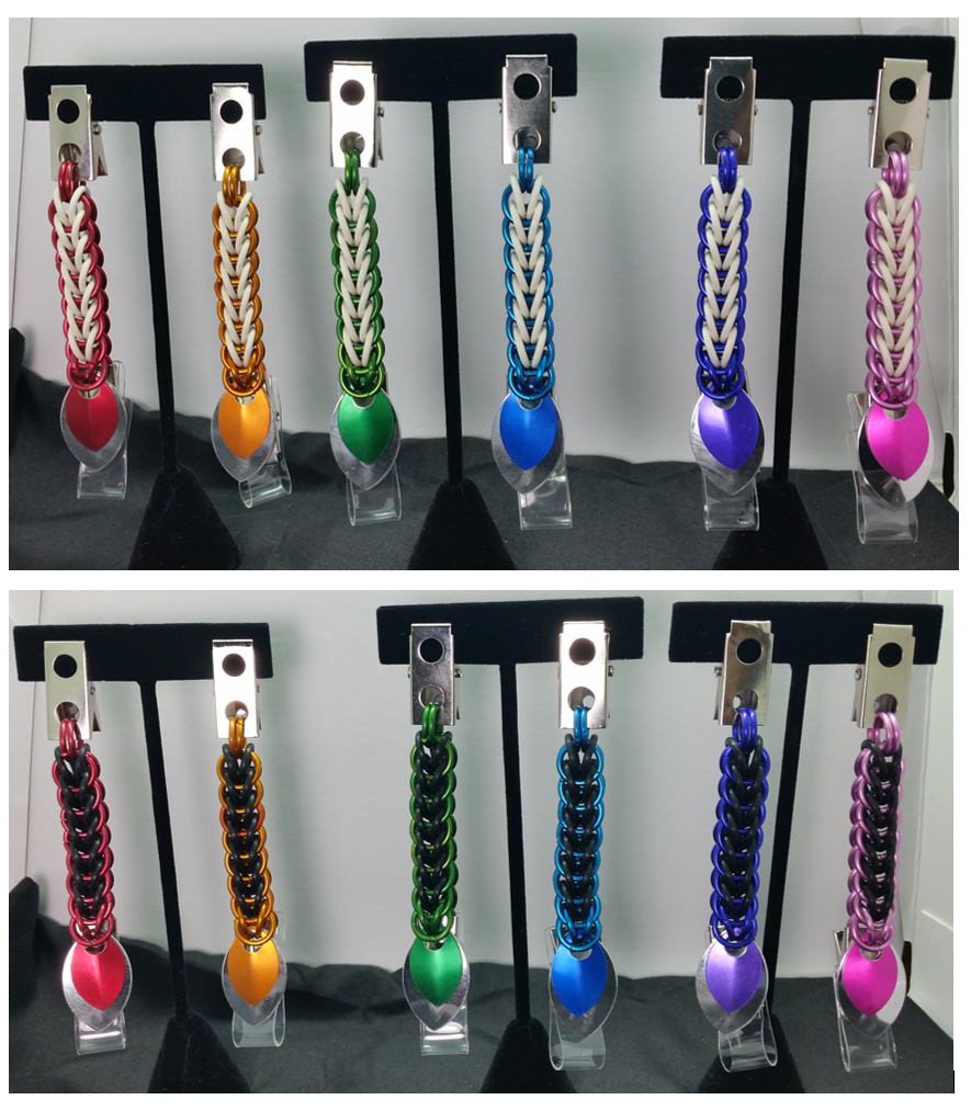 Examples of Badge Clips FOR SALE